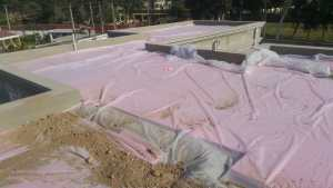 heat proofing with jumbolon sheets