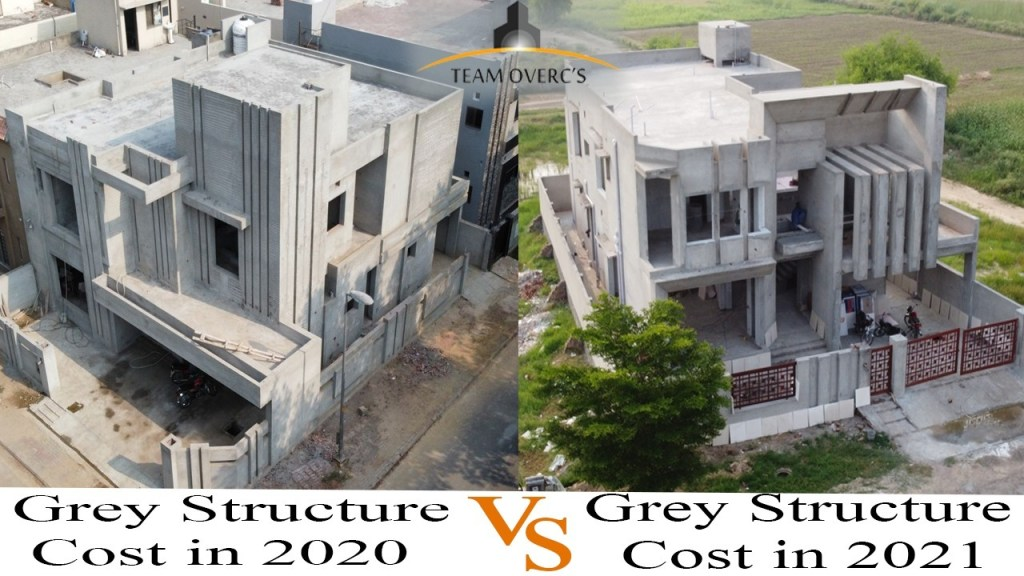 latest grey structure cost 2021