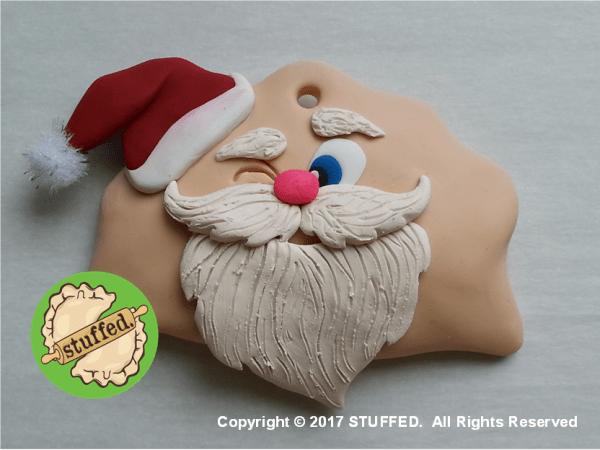x Winking Santa Perogy