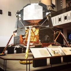 Apollo Lunar Module. This is a real one. A spare.