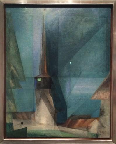 Lyonel Charles Feininger, 1871-1956. Gelmeroda, 1936.