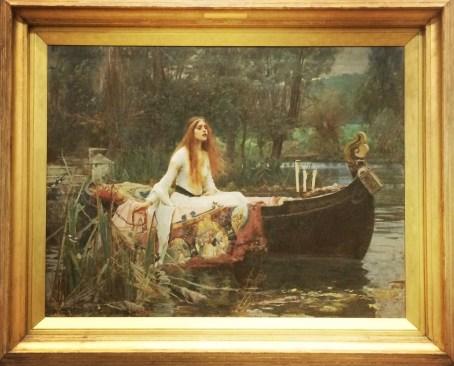 John William Waterhouse, 1849-1917. The Lady of Shalott, 1888.