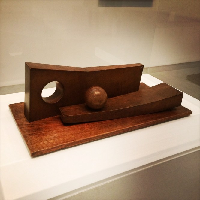 Barbara Hepworth, 1903-1975. Ball, Plane and Hole, 1936