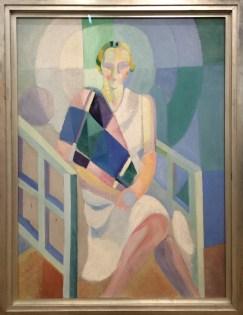 Robert Delaunay, Portraite de Mme Heim, 1927.