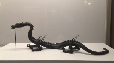 Myochin Muneaki, 1682-1751. Dragon, Edo period, 1713.