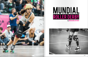 Girls Who Ride Mag Mundial Roller Derby January-March 2015 Por1
