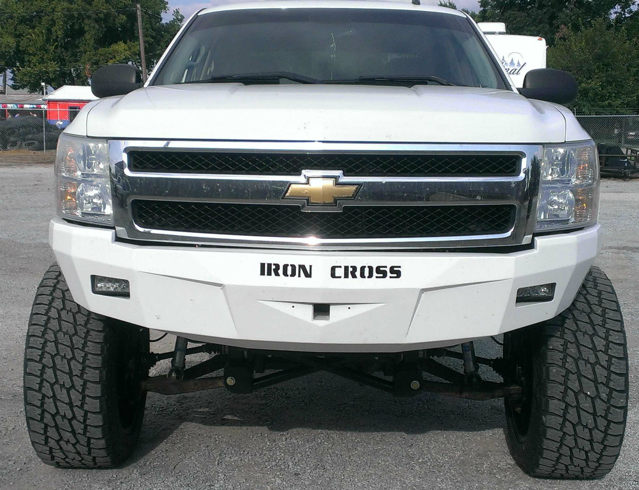 Chevrolet Silverado 1500 Iron Cross Bumper Performance Truck