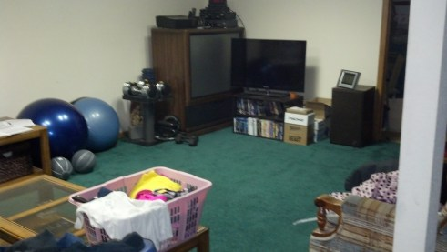 your home gym  p90x insanity and body beast part 1