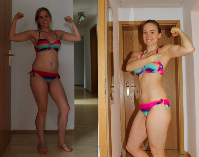 nicole p90x before after - teamRIPPED