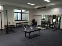 Home Gym Walls Designs