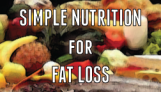 simple-nutrition-for-fat-loss