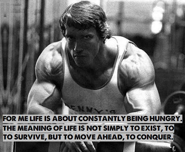 Wonderful Arnold Motivational Quote