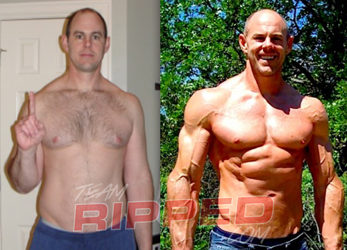 wayne wyatt p90x results before afer teamRIPPED