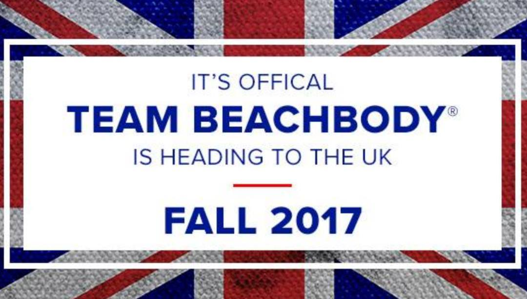 Team Beachbody is coming to the UK!