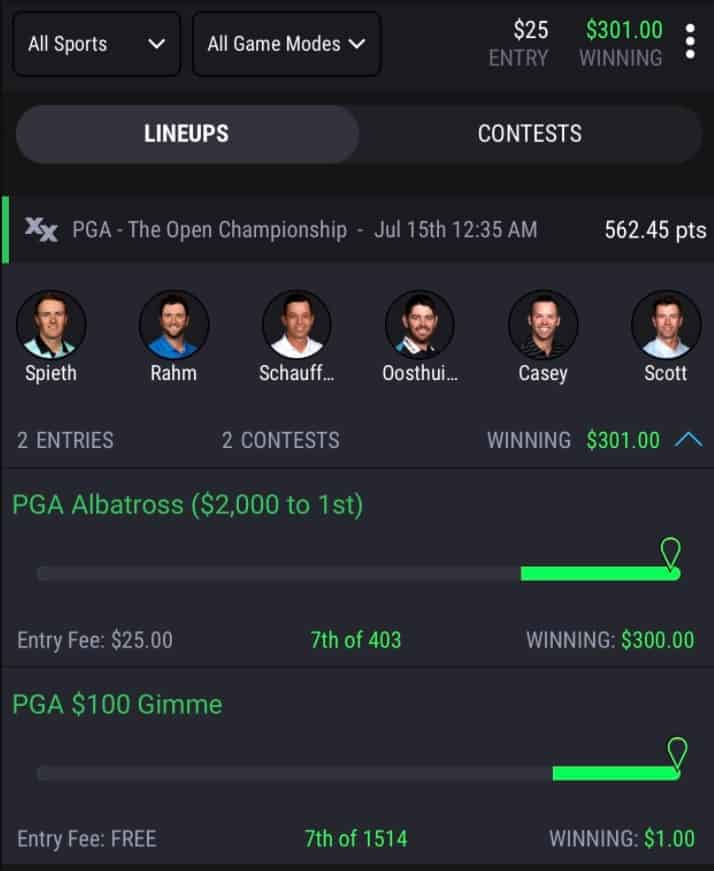 PGA DFS: Picks Preview for The 3M Open021 on DraftKings, FanDuel, SuperDraft