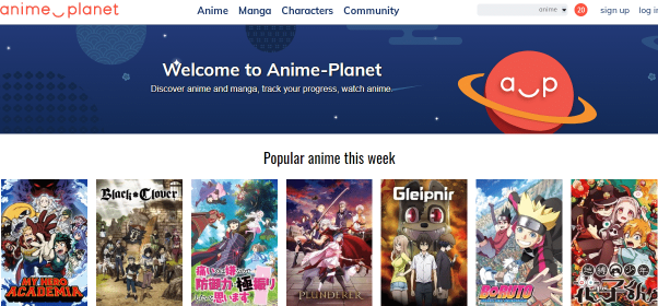 Anime-Planet - Watch Anime Recommendations Online
