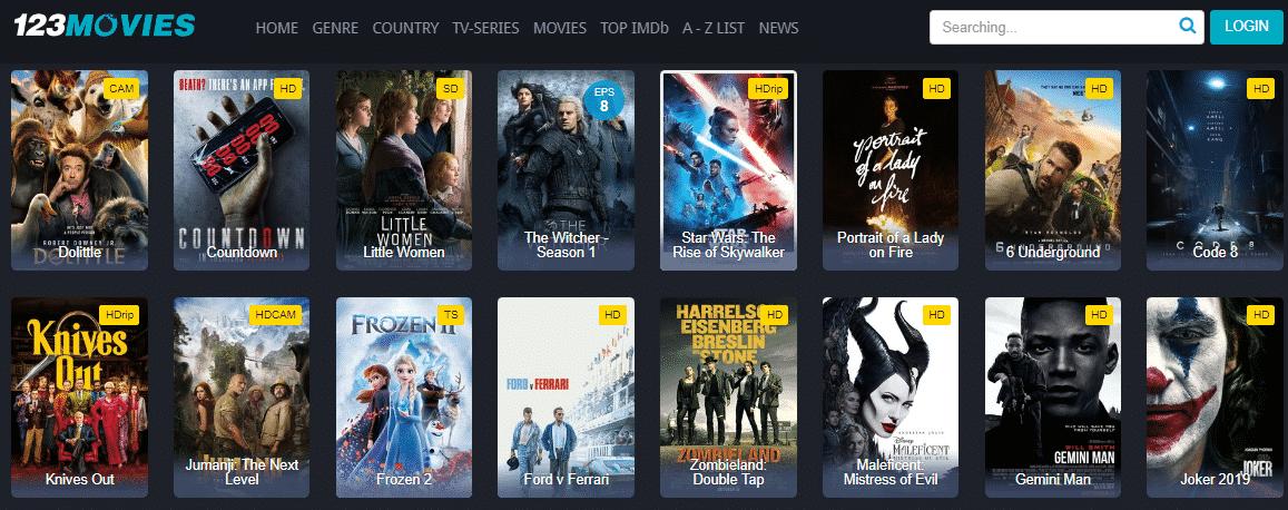 123Movies Watch Online Movies Free