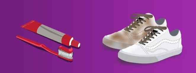 How to clean white vans with toothpaste