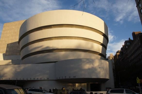 Guggenheim Museum, leider nur von außen