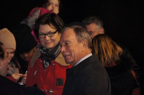Bürgermeister Bloomberg (schon mein zweiter Politik Promi, nach Obama)