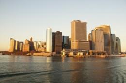 Blick von der Staten Island Fähre