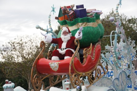 Santa darf an Weihnachten nicht fehlen