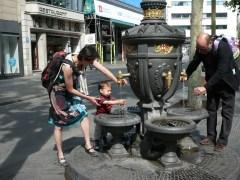 Brunnen auf den Ramblas