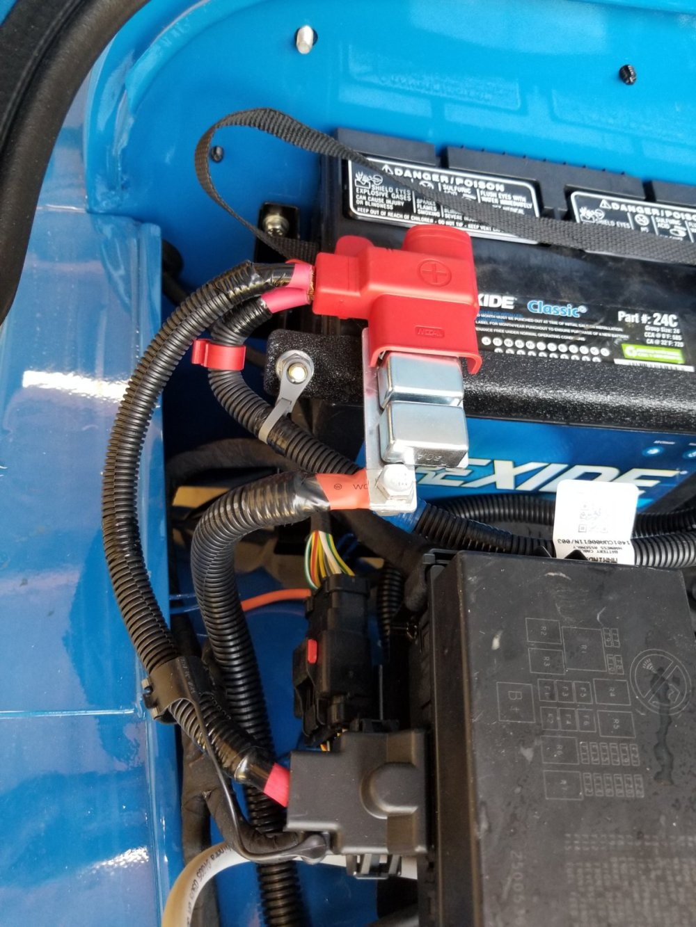 medium resolution of additionally i had to fabricate spacers using rectangle tubing to get the winch plate above the adjuster on the steering gear box and trim the bumper so it