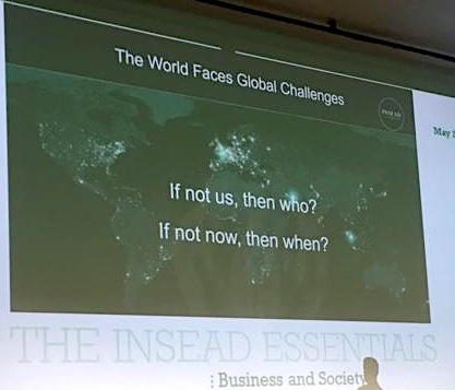 Business & Society: What I learnt at the INSEAD ESSENTIALS conference