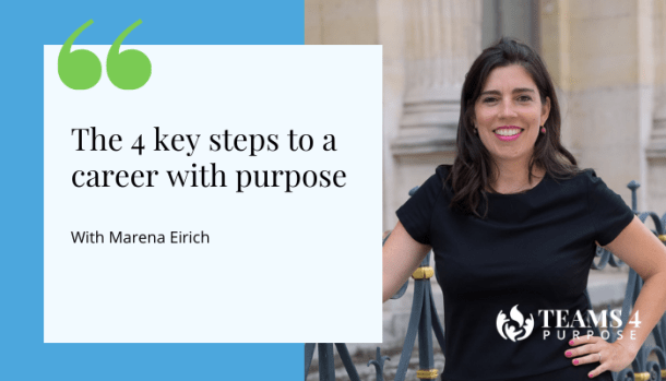 4 steps to a career with purpose