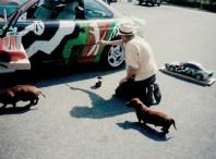 1992 BMW 3 series Touring Art Car by Sandro Chia