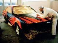 1982 BMW 635 CSi Art Car by Ernest Fuchs