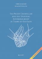 The Priest & Spiritual Accompaniment
