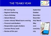 The Team Year (Rev 2021)