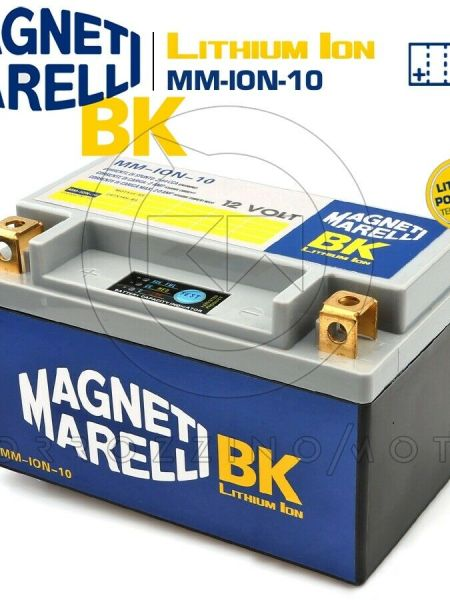BATTERIA MAGNETI MARELLI LITIO MM-ION-10 HONDA TRX FM FOURTRAX RANCHER 350