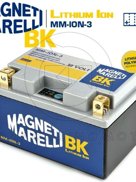 BATTERIA MAGNETI MARELLI LITIO MM-ION-3 YTZ10S-BS HONDA CBF 500 ABS (PC39) 2005