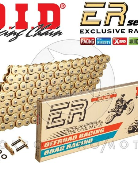 CATENA DID RACING 520ERV3 G&G GOLD M 116 X-RING SUZUKI GSX-R 600 ANNO 2007
