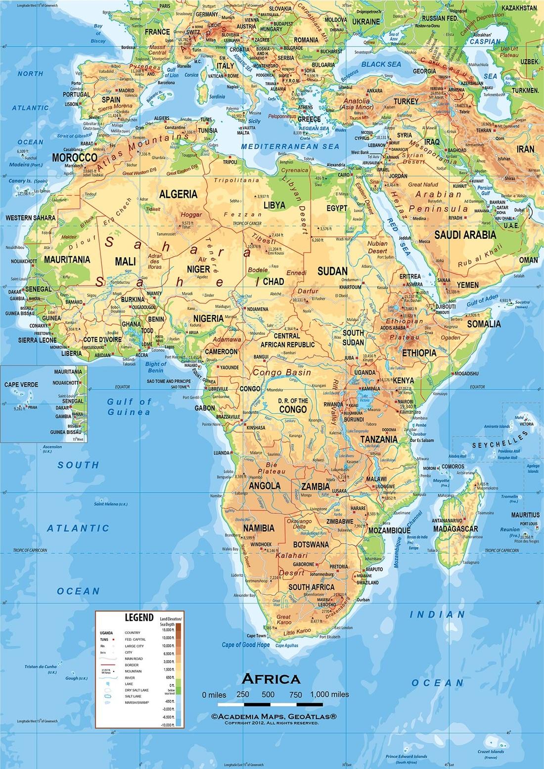 Sub Sahara Africa