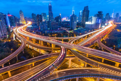 highways converging metaphor data center relocation
