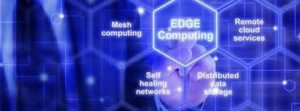 Image of different industry areas including edge computing