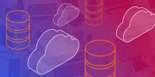 hybrid cloud computing image of server and cloud