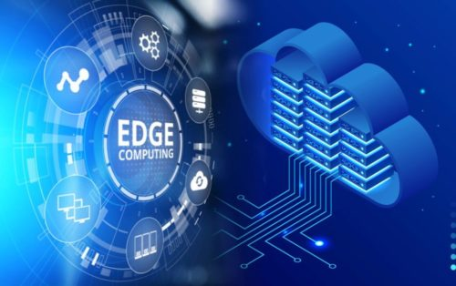 edge computing vs cloud computing illustration