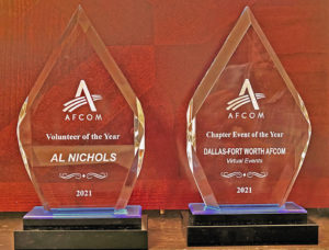 Al Nichols of Silverback receives two awards from AFCOM
