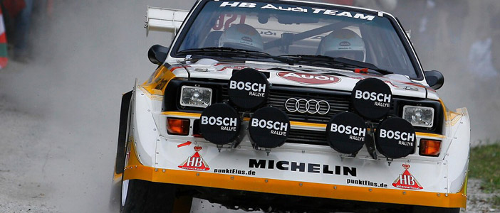 Walter Röhrl Audi Sport Quattro S Reunite For Th Annivery Pikes - Walter audi