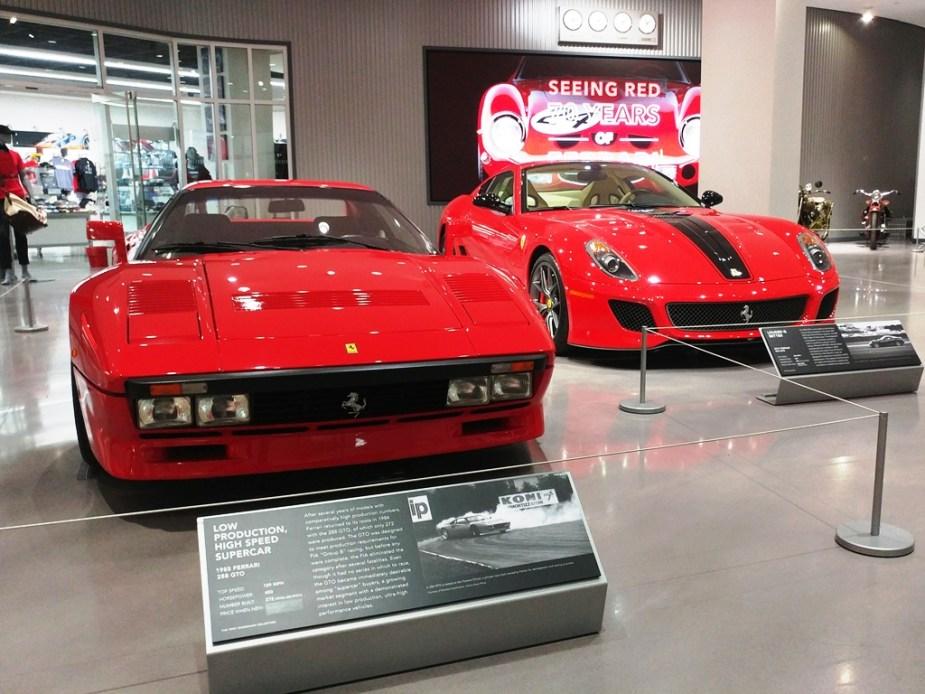 Peterson Museum Ferraris
