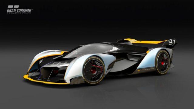 The McLaren Ultimate Vision concept car.