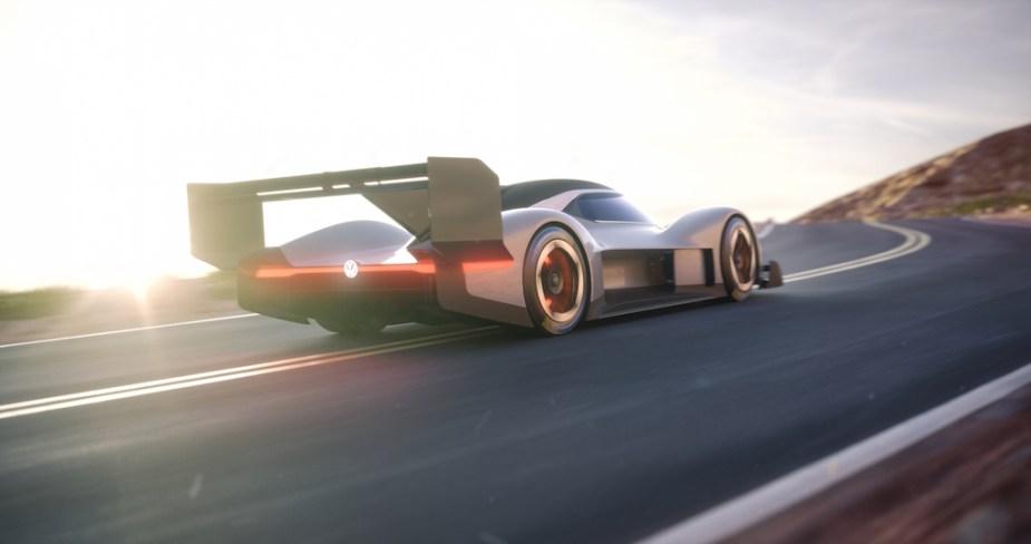 2018 Volkswagen I.D. R Pikes Peak racer