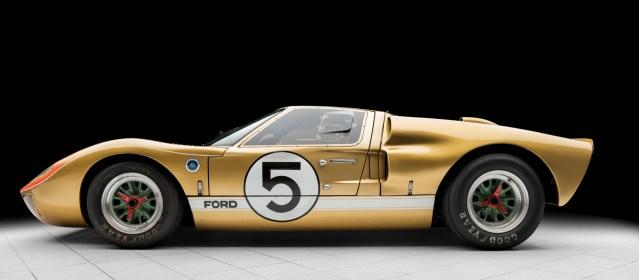 1966 Ford GT40 Le Mans racer