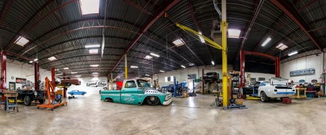 Speed is the New Black Classic Car Studio