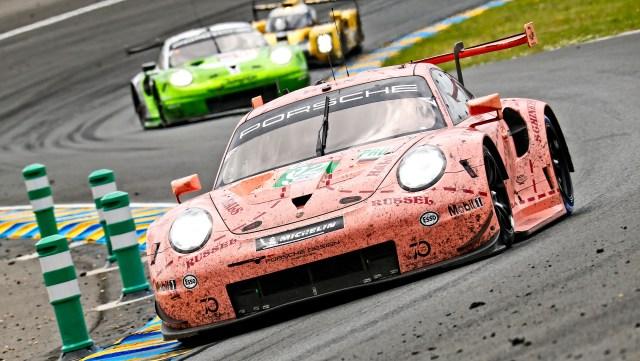 Porsche at 24 Hours of Le Mans 2018